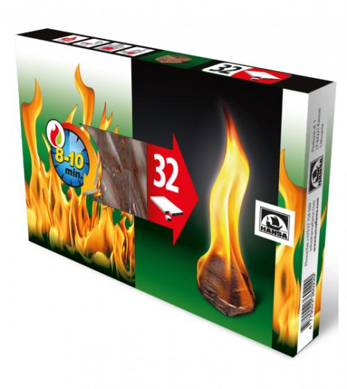 Kocke za  podžig 32 kosov